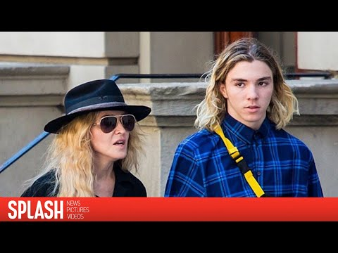 Rocco Ritchie is all Smiles as He Visits Madonna at Her London Home