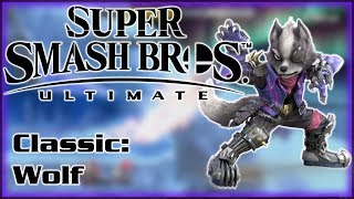 A Classic Smash Story - Super Smash Bros Ultimate Classic Mode - Wolf's Story