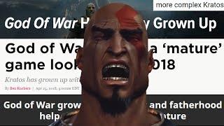 GOD OF WAR WAS ALWAYS DEEP YOU COWARDS!