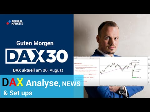 DAX aktuell: Analyse, Trading-Ideen & Scalping | DAX30 | CFD Trading | DAX Analyse | 06.08.2020