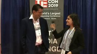 #TiETV Interview w: Rohit Chandra @TieCon 2019 @ooneemedia #TieCon2019