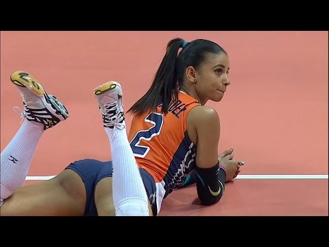 Winifer Fernandez - Beautiful Indoor Volleyball Girl