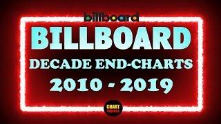 Billboard Decade-End Charts 2010-2019 | Top 100 HitList 2010's | ChartExpress