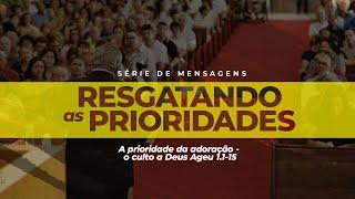 2021-01-17 -  Ageu 1.1-14 - Rev. Leonardo Cavalcante - Transmissão Vespertina