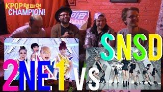 Video KPOPCHAMPION EP1: 2NE1 - CAN'T NOBODY VS Girls' Generation 소녀시대 THE BOYS ( REACTION DRINKING SHOW) download MP3, 3GP, MP4, WEBM, AVI, FLV Desember 2017