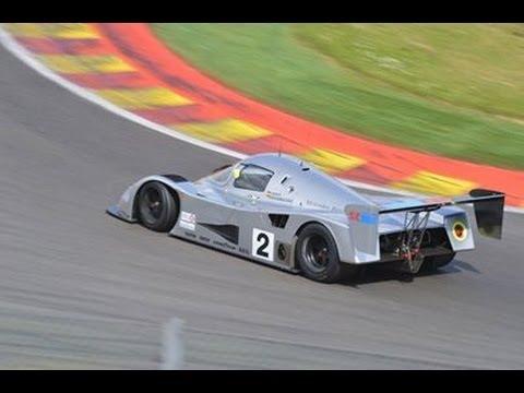 Sauber C11 Ex - Schumacher - Start up, Flames, Brutal Sounds at Spa