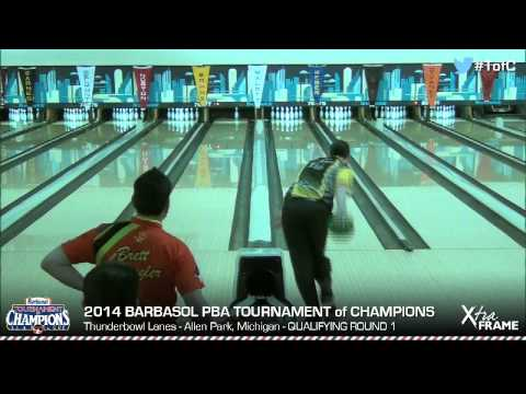Sean Rash goes for a 300 game in 2014 PBA Tournament of Champions