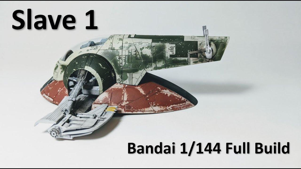 Star Wars Slave I 1//144 Scale Model Kit