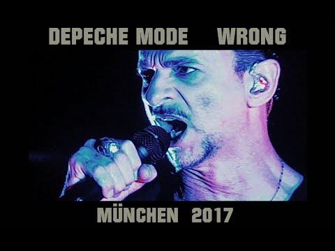 """Depeche Mode """"Wrong"""" Live München 2017"""