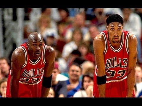 Bulls vs. Lakers - 1996 (72-10 season) - Magic Johnson is back!!