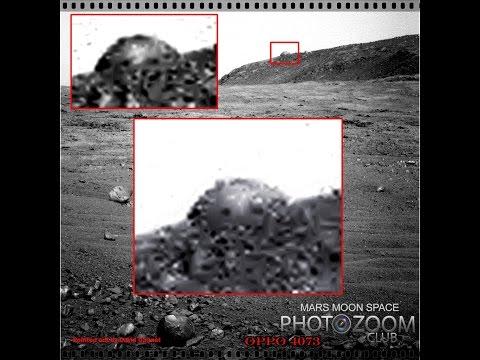 На Марсе обнаружен дот инопланетян