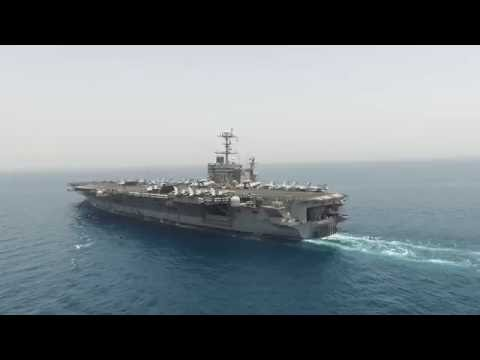 USS Harry S. Truman (CVN 75) underway