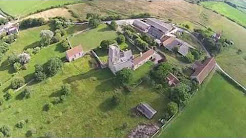 Flying Over Woodspring Priory - Weston Super Mare
