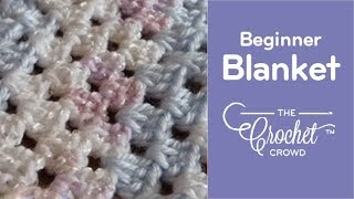 How To Crochet Granny Square Baby Blanket