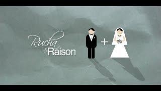 rucha raison wedding invite video save the date