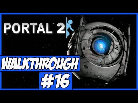Portal 2 Walkthrough Ep.16 w/Angel - Upset Wheatley!