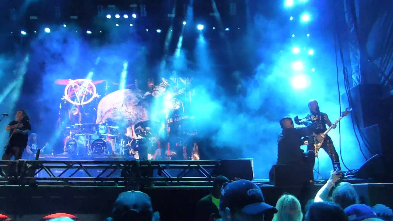 Resultado de imagen de Slayer - Live Voodoo Music Festival 2014 (Full Show HD)