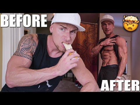 THE ALL PROTEIN BAR DIET | Before & After