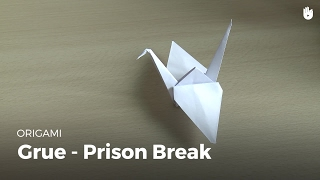 Faire la grue de Prison Break | Origami