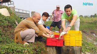DV Lương Thế Thành cùng Thầy BaLaMat phóng sanh cá