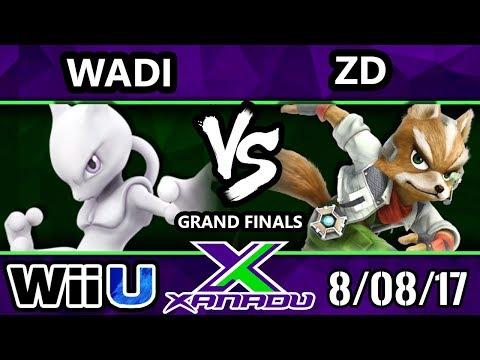 S@X 214 - Wadi (Mewtwo, Rob) Vs. InC   ZD (Fox) - SSB4 Grand Finals - Smash 4 - Smash for Wii U.