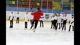 Аделина Сотникова провала мастер класс для юных воронежских фигуристов