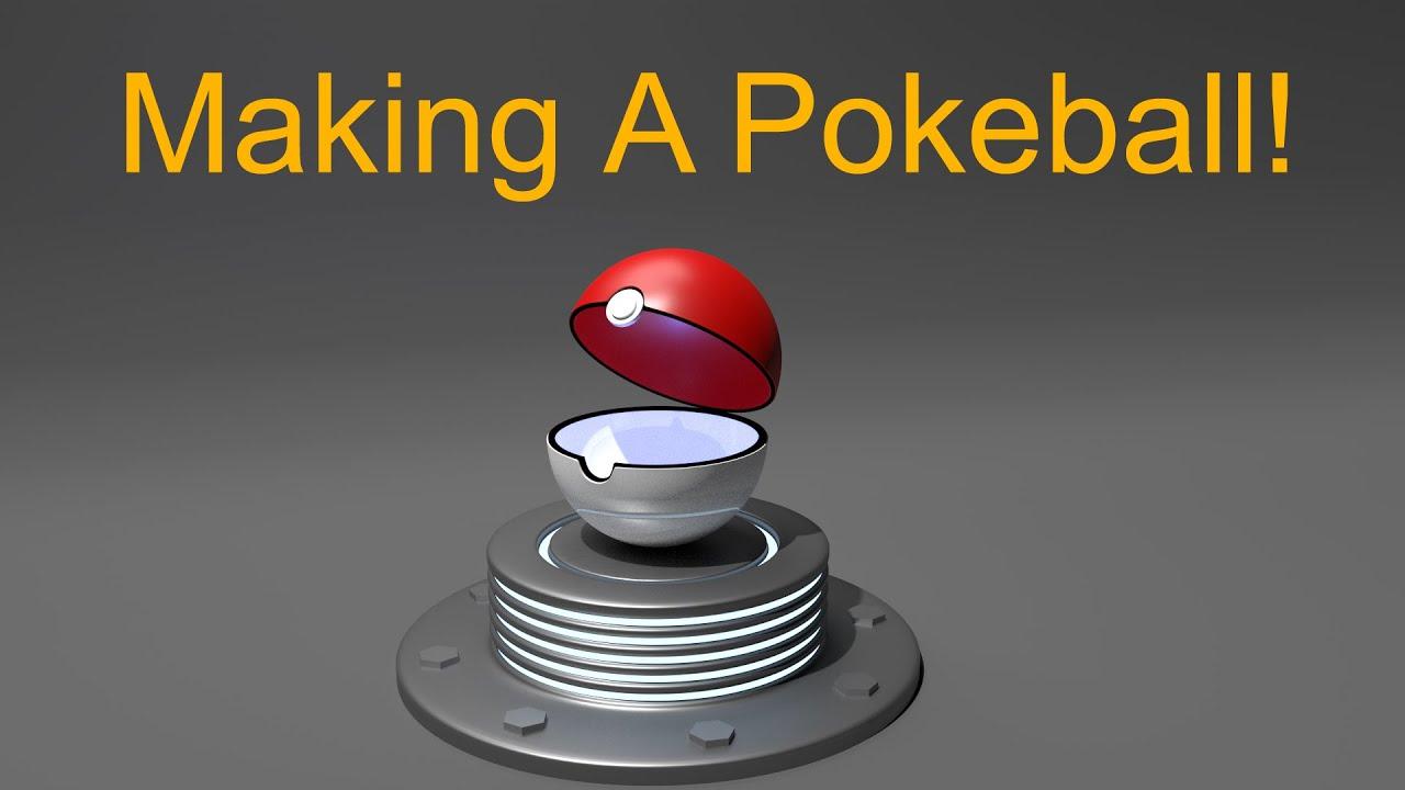 Blender Tutorial - How to Model a 3D Pokeball! (Pokemon ...
