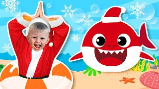 크리스마스 산타 아기상어 인기동요 Baby Shark | Baby Shark Santa Christmas Song | Baby shark doo doo songs - 마슈토이