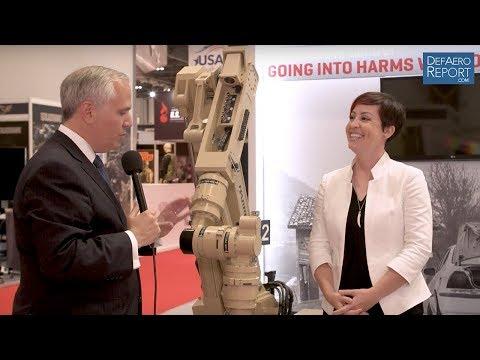 Harris' Ondrusek on T7 EOD Robotic System, Haptics, Future of Robotics