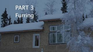 Cold Climate Building Techniques & Concepts: furring in an outside wall