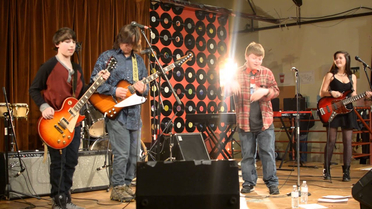 School of rock fairfield house band onewayout youtube for House music bands