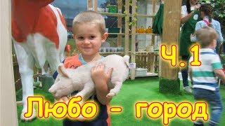Семья Бровченко. Поездка в Любо-город (детский развлек. центр) ч.1 (05.17г.)