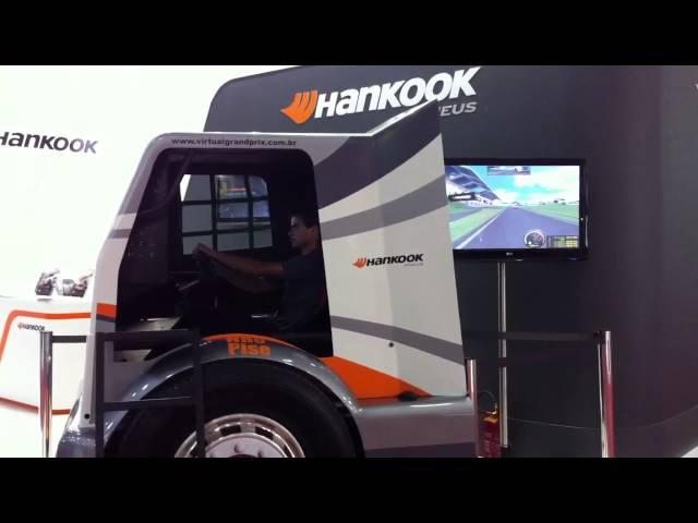 Simulador de Caminhão Hankook Pneus || PneuShow Recaufair