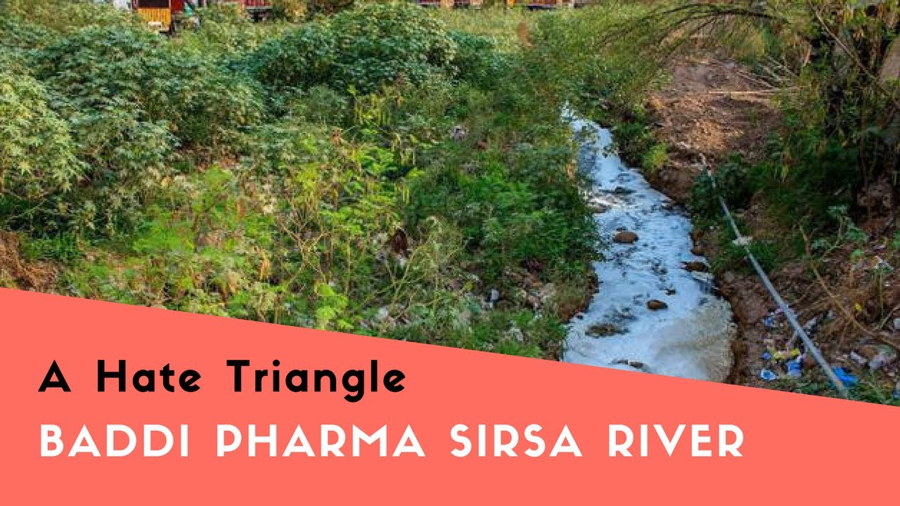 Baddi Pharma Sirsa river -A Hate triangle(Feat  Happy)| Based on  malpractices exposed by CSE and WHO