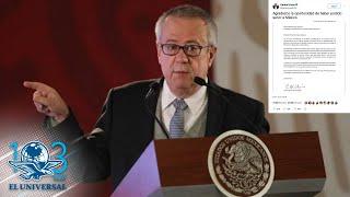 Carta con la que Carlos Urzúa se despidió de la 4T