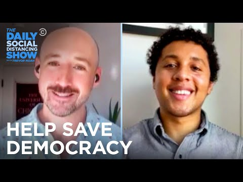 Why You Should Help Save Democracy by Working the Polls | The Daily Social Distancing Show