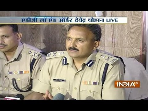 Live: ADG law and order Devender Chauhan addressing Press Conference