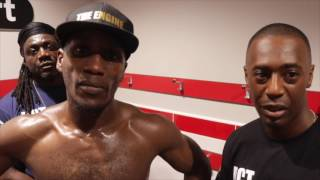 CARL FROCH GAVE ME SOME GREAT ADVICE! EKOW ESSUMAN MOVES TO 3-0 HOPES OF FLYING FLAG FOR NOTTINGHAM