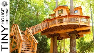 Orcas Island Treehouse Part Ii, The Reveal | Tiny House Interiors