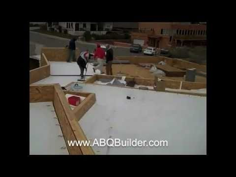 TPO Roof Installation   Video One   Bluffside