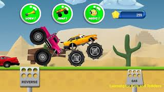 Monster Trucks Game for Kids 2 [Ages 8 & Under] -  Android & Apple