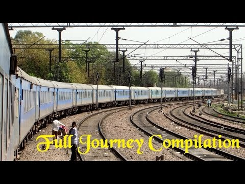 New Delhi Lucknow Swarn Shatabdi Express : Full Journey Compilation