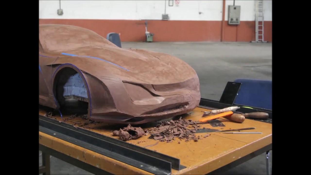 Automotive Design Clay Modelling - YouTube