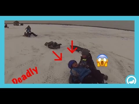 ICE SLEDDING GONE DEADLY