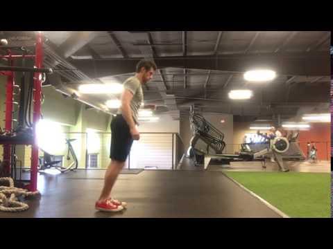 Body weight lunge