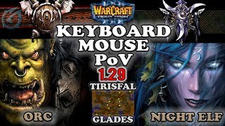 Grubby | Warcraft 3 The Frozen Throne | OR v NE - Keyboard/Mouse PoV - Tirisfal Glades