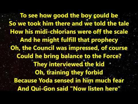 """Weird Al"" Yankovic - The Saga Begins with Lyrics"