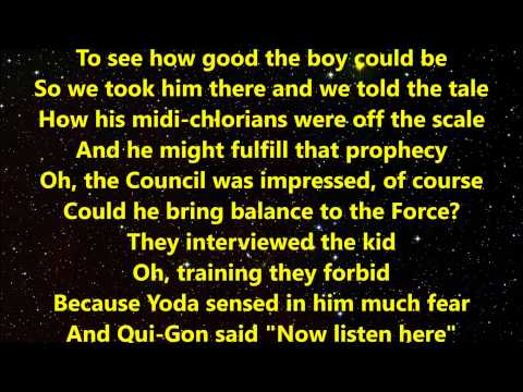 """Weird Al"" Yankovic - The Saga Begins with Lyrics"