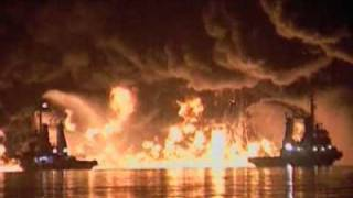 Destroyed in Seconds- Oil Tanker Explosion .flv