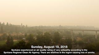Smoky Spokane Weather